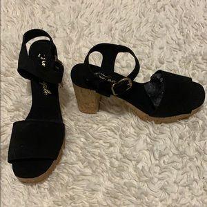 Women Free People platform shoes